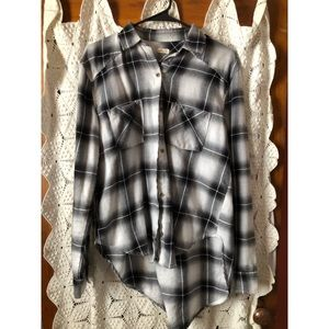 Hollister Plaid Flannel